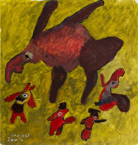 Uccello preistorico (prehistoric bird), 2004