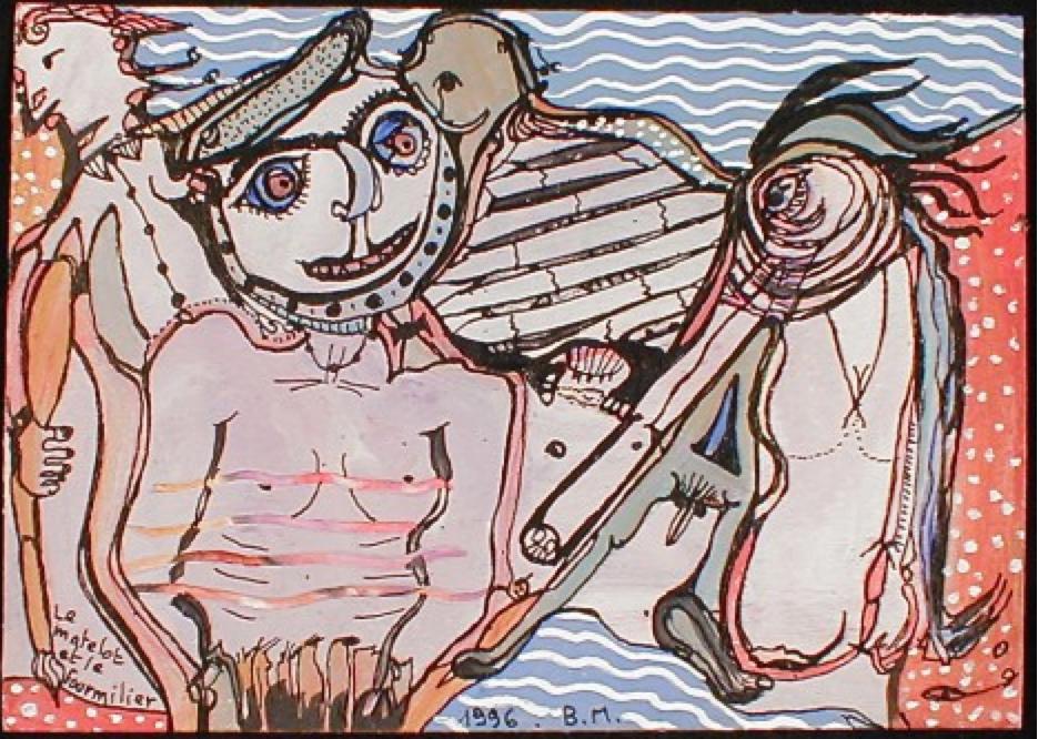 Le matelot et le fourmilier, 1996 © Collection De Stadshof