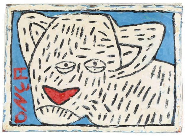 Onça, 1989 © Collection de l'Art Brut, Lausanne