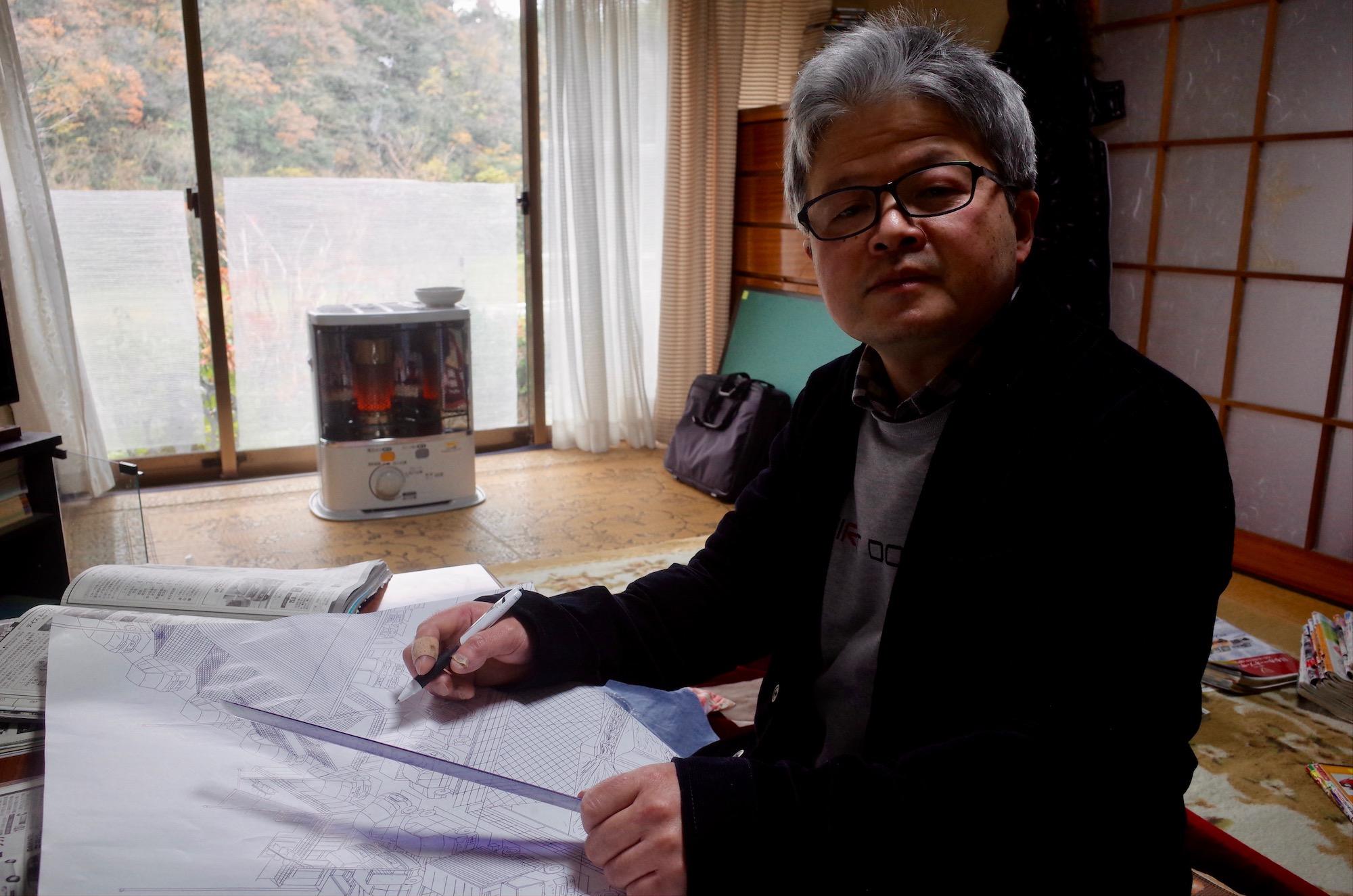 Kiyoshi Toya, Photo courtesy of Kushino Terrace, Fukuyama, Japan.