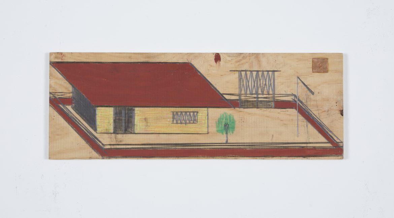 """""""House"""", unknown date, © Galerie du Moineau Écarlate, Paris"""