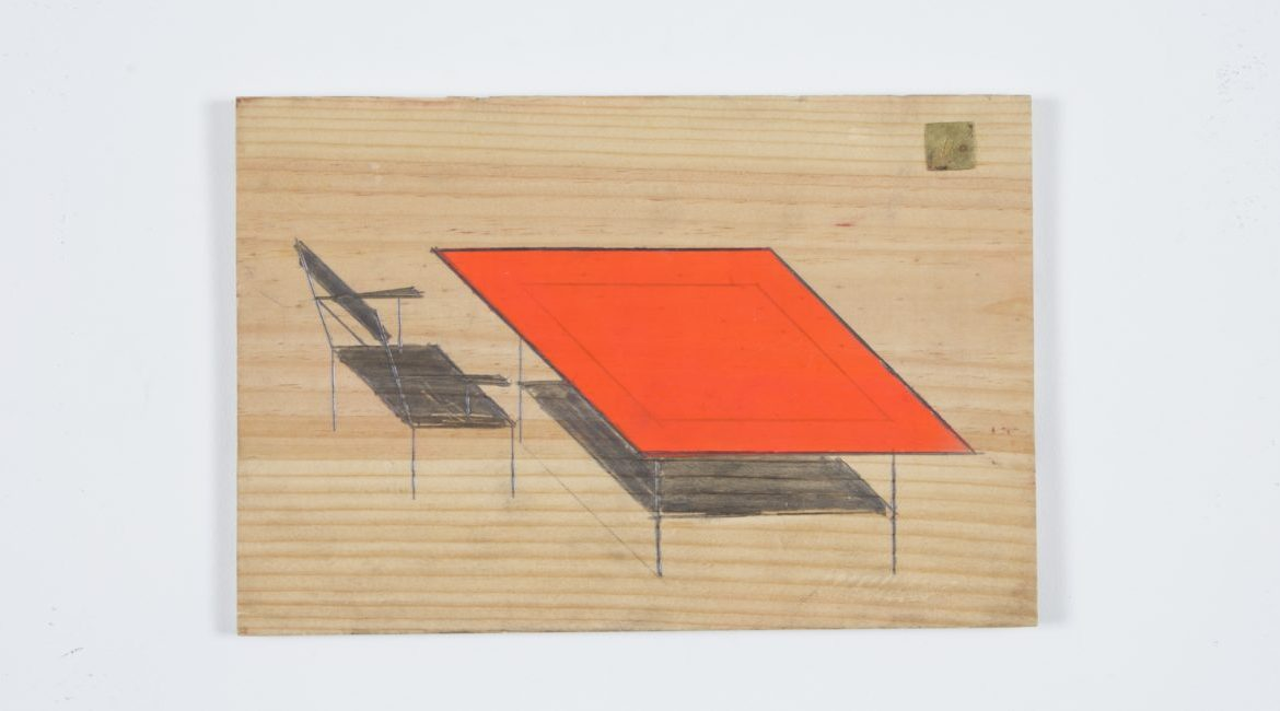 """Table and chair"", unknown date, © Galerie du Moineau Écarlate, Paris"